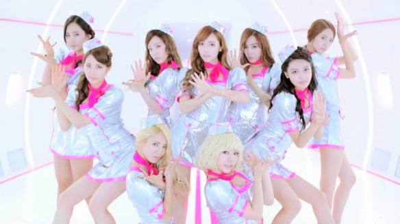 121201 SNSD Costume - Flower Power