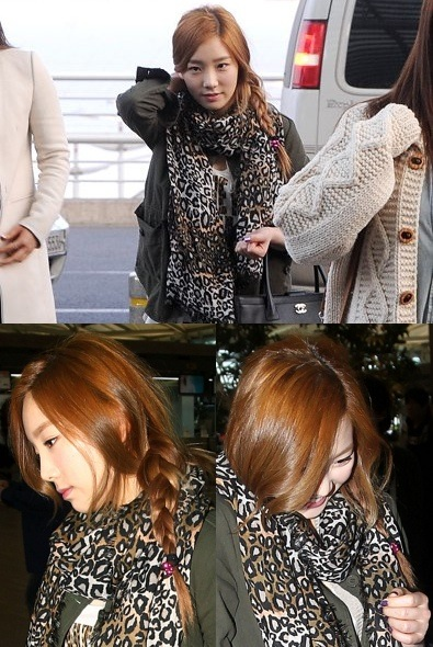 130309 Taeyeon in Airport