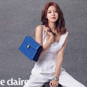 1504 Sooyoung Bvlgari Serpenti Forever Leather Shoulder Bag(2)