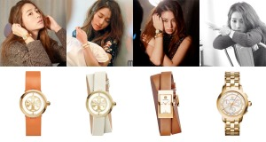 1505 Lee Min Jung Tory Burch Watches