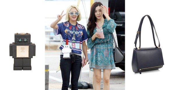 1507 Hyoyeon TIffany Airport MCM Givenchy copy