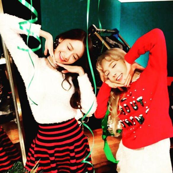 1512 Yoona and Taeyeon - Instagram