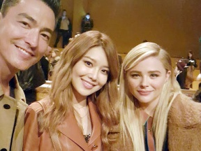1602 Sooyoung - New York Fashion Week (with Daniel Henney and Chloe Moretz)