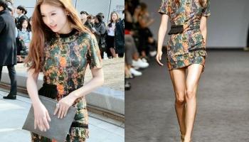 349c0f67214 Kim So Eun dalam Korean Fashion Week