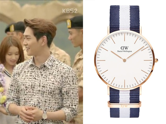 1604 Onew - Daniel Wellington Classic Glasgow 40 mm