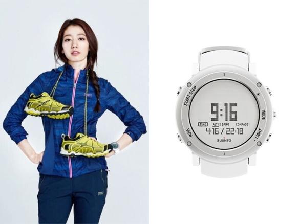 1604 Park Shin Hye - Suunto Core Alu Pure White