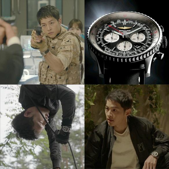 1604 Song Joong Ki - Breitling Navitimer 01