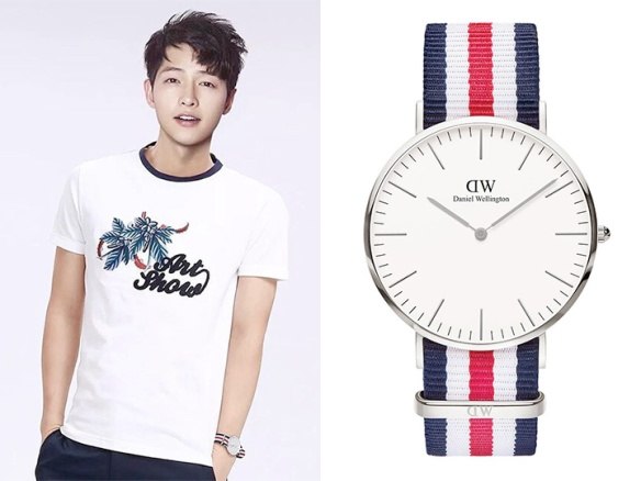 1605 Song Joong Ki - Daniel Wellington (Fairwhale)