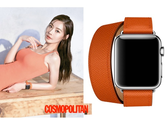 1605 Yoon So Yi - Apple Watch (Cosmopolitan)