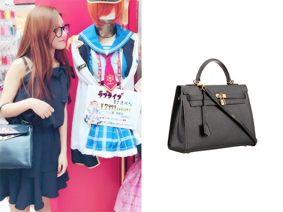 1606 Kim So Eun - Hermes Kelly