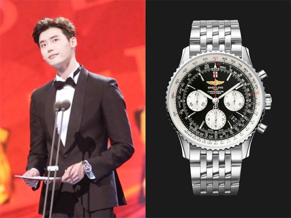 1606 Lee Jong Suk - Breitling (Baeksang Art Awards)