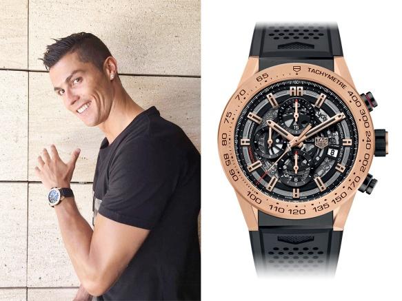 1608 Ronaldo - Tag Heuer Heuer 01 (Instagram)