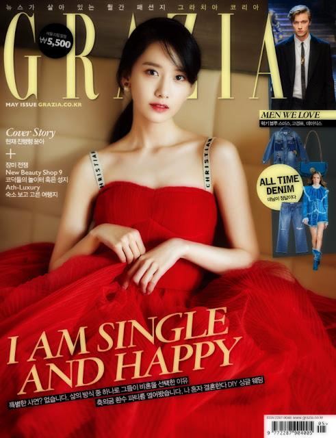 1704 Yoona - Grazia (cover)