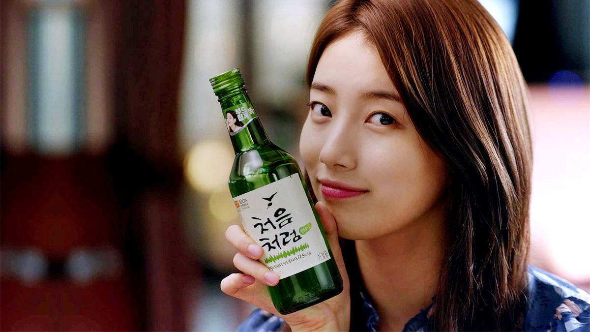 Drinking Soju_Suzy Chum Churum