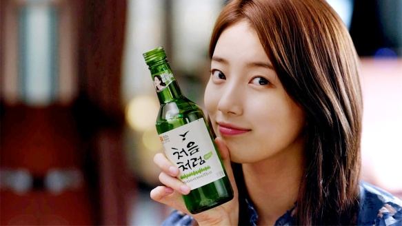 Drinking Soju_Suzy Chum Churum
