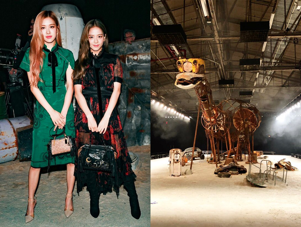 1809 Rose and Jisoo - Coach NYFW(0)