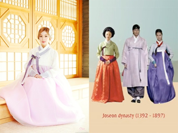 Hanbok Joseon - Red Velvet Irene