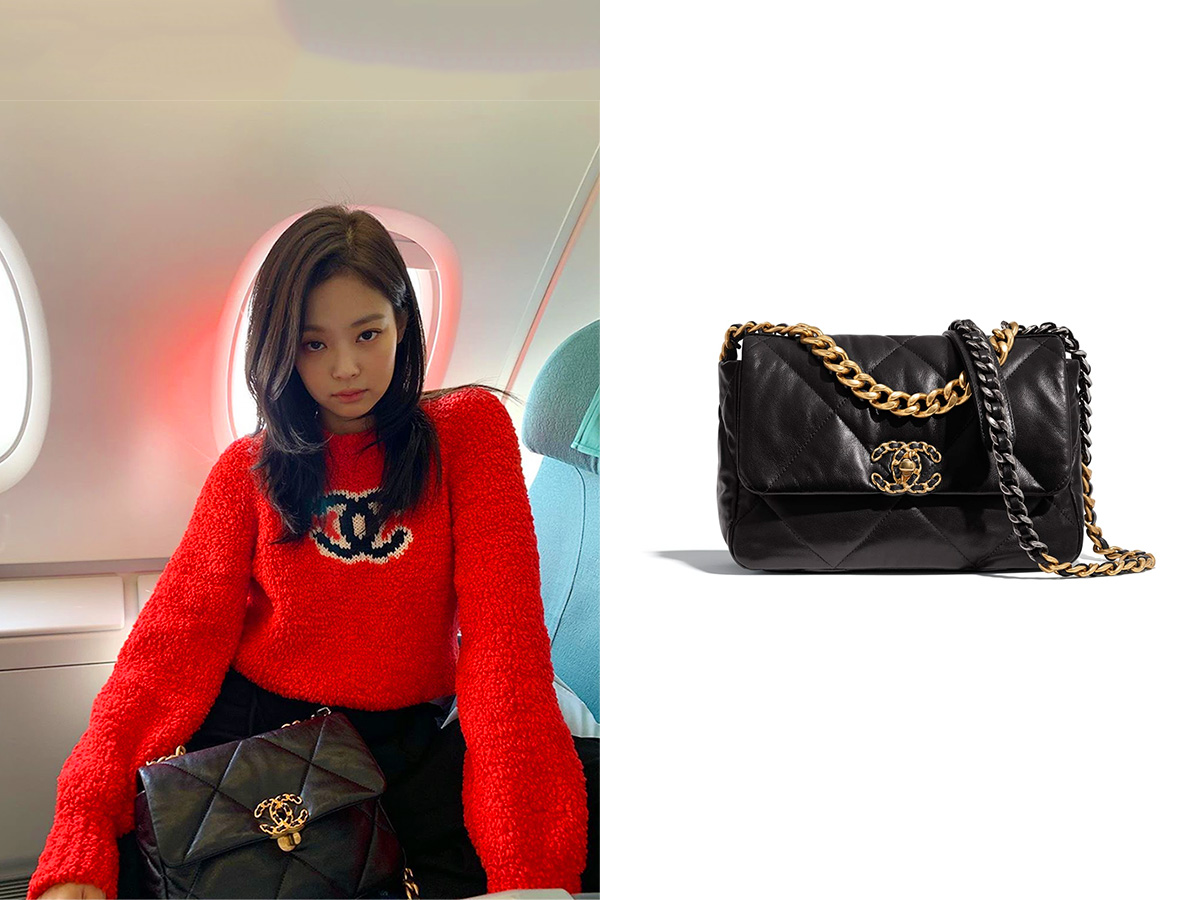 1910 Jennie - Chanel 19 Small Flap Bag