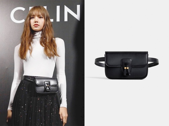 1910 Lisa - Celine Tassels Belt Bag
