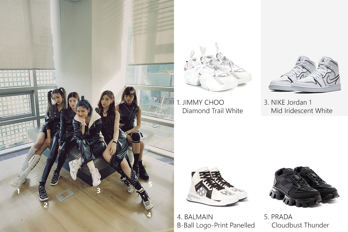 2004 Itzy - Favorite Sneakers